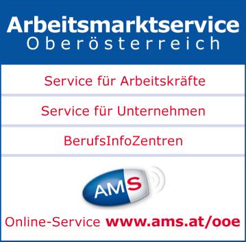 Werbung AMS Arbeitsmarktservice Schärding