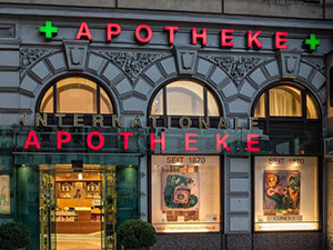 Logo Internationale Apotheke