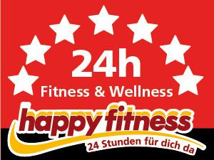 Logo Happy Fitness - 24 Stunden geöffnet