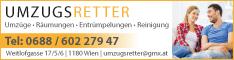 Werbung UMZUGSRETTER