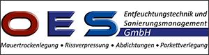 Logo OES Entfeuchtungstechnik u Sanierungsmanagement GmbH