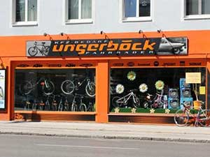 Logo Ungerböck Autobedarf und Fahrräder