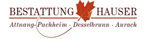 Logo Bestattung Hauser