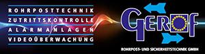 Logo GEROF Rohrpost- und Sicherheitstechnik GmbH