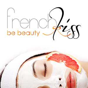 Logo french kiss be beauty