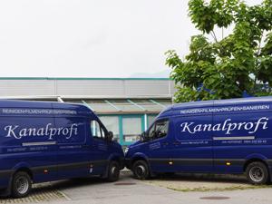 Logo Kanalprofi Gabathuler Jürg