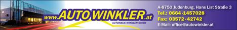 Werbung Autohaus Winkler GmbH