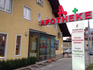 Logo Barbara - Apotheke Mag pharm. Winter KG