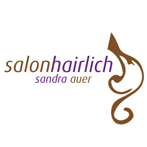Logo Friseur Salon Hairlich Sandra Auer