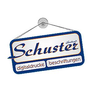 Logo Beschriftungen Schuster