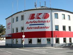 Logo BKD GmbH & Co. KG Autofachmarkt und Fahrradcenter