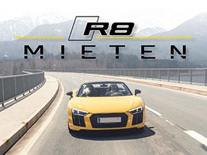 Zum Detaileintrag von Sportwagenvermietung - R8 Mieten
