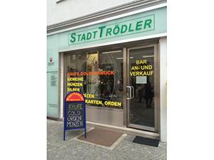 Logo Stadttrödler - Ankauf von Trophäen und Verlassenschaften