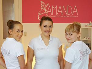 Logo Amanda - Schönheit zum Wohlfühlen