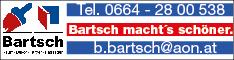 Werbung Bartsch Bernd