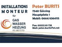 Burits Peter Installationen - Gas-Wasser-Heizung