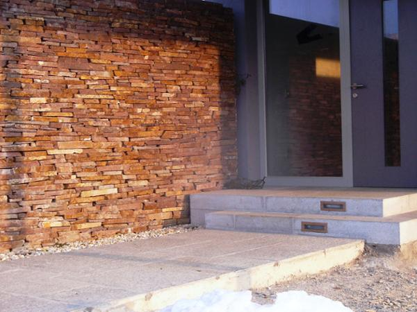 Trockenmauerwerk, Massivstufen