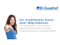 Kreditmakler B-Quadrat | Mehr Möglichkeiten durch einen Kreditmakler
