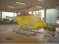 Lackierung Hubschrauber