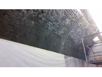 NCT Trockenlegung Dombuchhandlung 1010 Wien Während der Sanierung