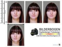 Passbilder nach den österr. Passbildkriterien