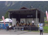Organisation von Open Air Bühnen und Technik.
