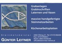 Günter Leitner Steinmetzmeister