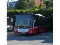 Dr. Richard-Busse mit dem neuen Kleid der Wiener Linien