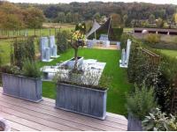 Pflanztröge für den Garten