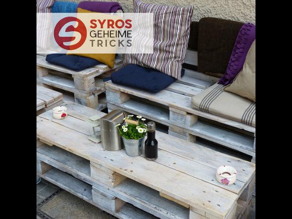 Vorschau - Palettenmöbel selbst bauen! von Christian Syrovatka