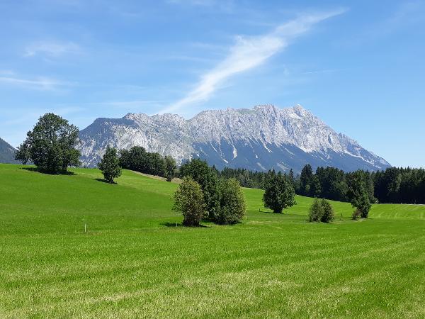 Vorschau - Blick zum Grimming - Foto von HotelHiW