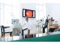 Untersuchungsraum Privatordination Prim. Univ. Prof. Dr. Findl, Augenchirurg Augenarzt Wien