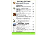 SPEZIALITÄTEN aus der Pfanne - Vegetarische & Internationale Gerichte