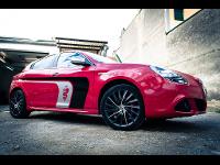 Alfa Romeo Giulietta   CarWrapping