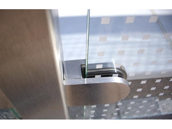 Vorschau - Glasfüllung bei Geländer
