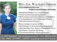 Steuerberaterin Mag. Gregor Waltraud