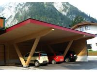 Carport mit 4 Stellplätzen