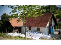 Hochzeitstafel im Freien am Weingut Kranachberg