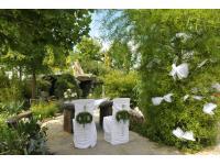 Hochzeit im Garten vom Landgasthof Feichthub