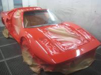 Ferrari Ganzlackierung