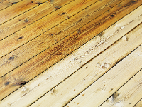 Holzterrassen vorher/nachher