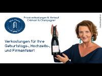 Privatverkostung & Verkauf Cremant & Champagner mit Roswitha Steininger