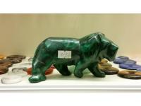Malachit Figur Löwe