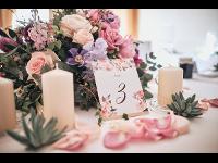 Tischschmuck für Hochzeiten