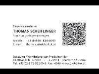 Globaltek Tirol – Thomas Scheiflinger