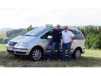 Krankentransporter VW Sharan