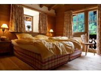 Schlafkammer im Chalet