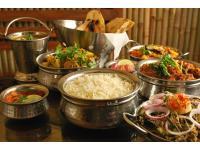 versch. indische Gerichte
