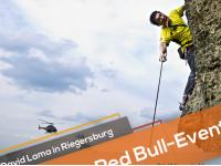 David Lama und Red Bull