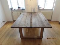 Schreibtisch aus Antikeiche